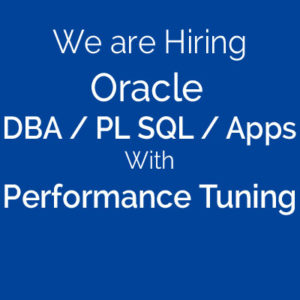 Oracle-DBA-PLSQL-Apps-Performance Tuning-SGC